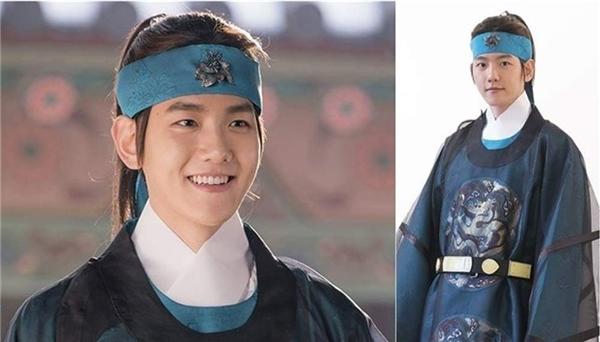 Tạo hình của BaekHyun trong Moon Lovers