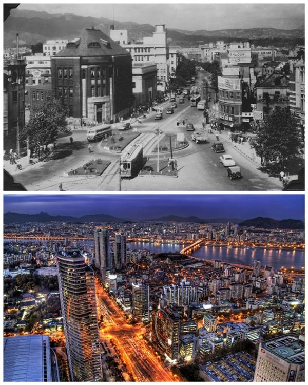1950 so với thời nay