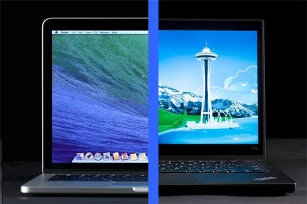 Macbook và Laptop hoàn toàn khác nhau. (Ảnh: internet)