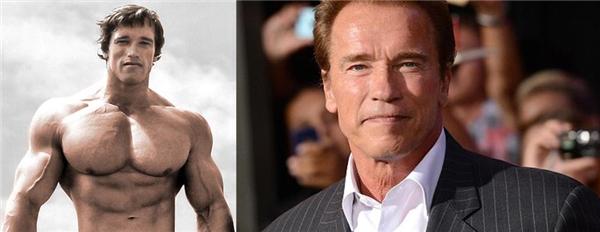 """Cũng giống như những năm 1900, hình mẫu những anh chàng cơ bắp lại tiếp tục được yêu thích và đại diện của giai đoạn này không ai khác chính là Arnold Schwarzenegger - vận động viên thể dục thể hình kiêm diễn viên điện ảnh và hiệnlà Thống đốc California. Với thân hình cơ bắp """"chuẩn không cần chỉnh"""", Arnold là một biểu tượng nhan sắc không chỉ trong giai đoạn này mà còn luôn được nhắc đến như là người đàn ông hoàn mĩ của thế giới cho đến tận hôm nay."""