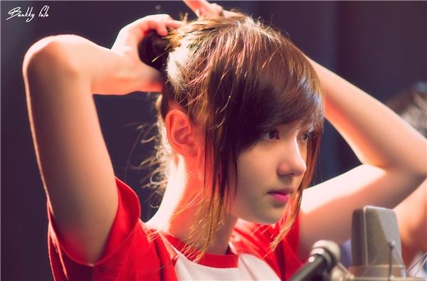 Hotgirl sở hữu giọng hát ngọt ngào Jannina.