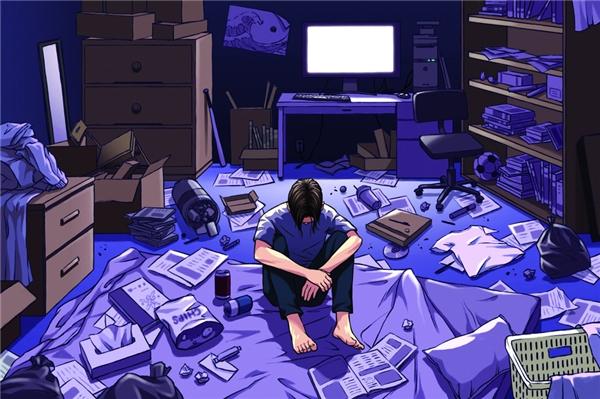 Thế hệ lạc lối dùng để chỉ những thanh niên Nhật sống ẩn dật trong căn phòng của mình từ năm này qua tháng khác.