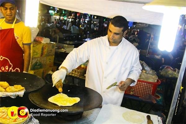 Bánh trứng Ấn Độ