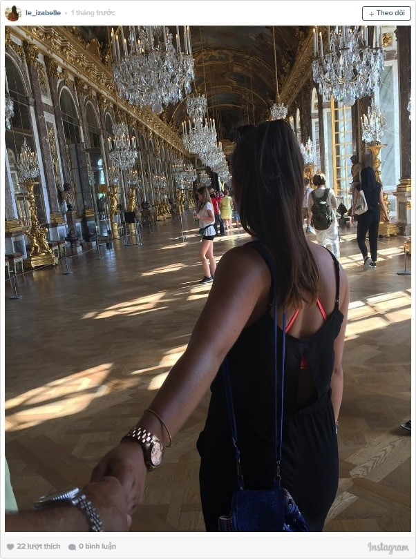 Versailles (Pháp) là cung điện đẹp như trong cổ tích.