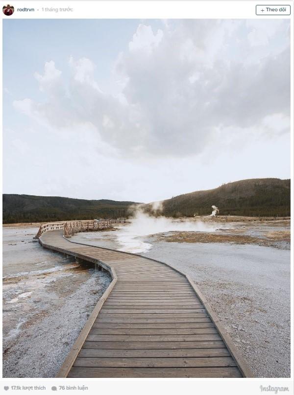 Công viên Quốc gia Yellowstone (Mỹ) chìm đắm trong không gian tĩnh lặng của thiên nhiên tươi đẹp.