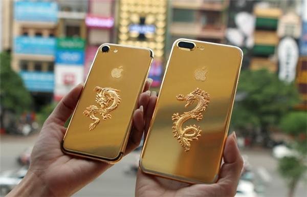 Logo hình rồng làm bằng vàng có trọng lượng khoảng 5 chỉ. (Ảnh: internet)