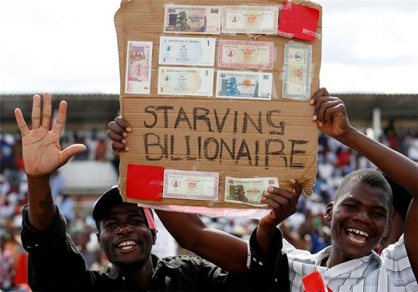 Những tỷ phú đói ăn ở Zimbabwe.