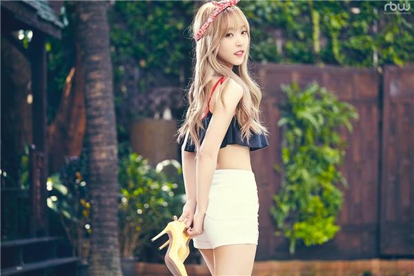 Rapper của Mamamoo - Moonbyul giành vị trí thứ 4 với 463 phiếu.