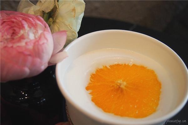 Latte cam cũng là thức uống được ưa chuộng ở Hàn. (Ảnh: Internet)