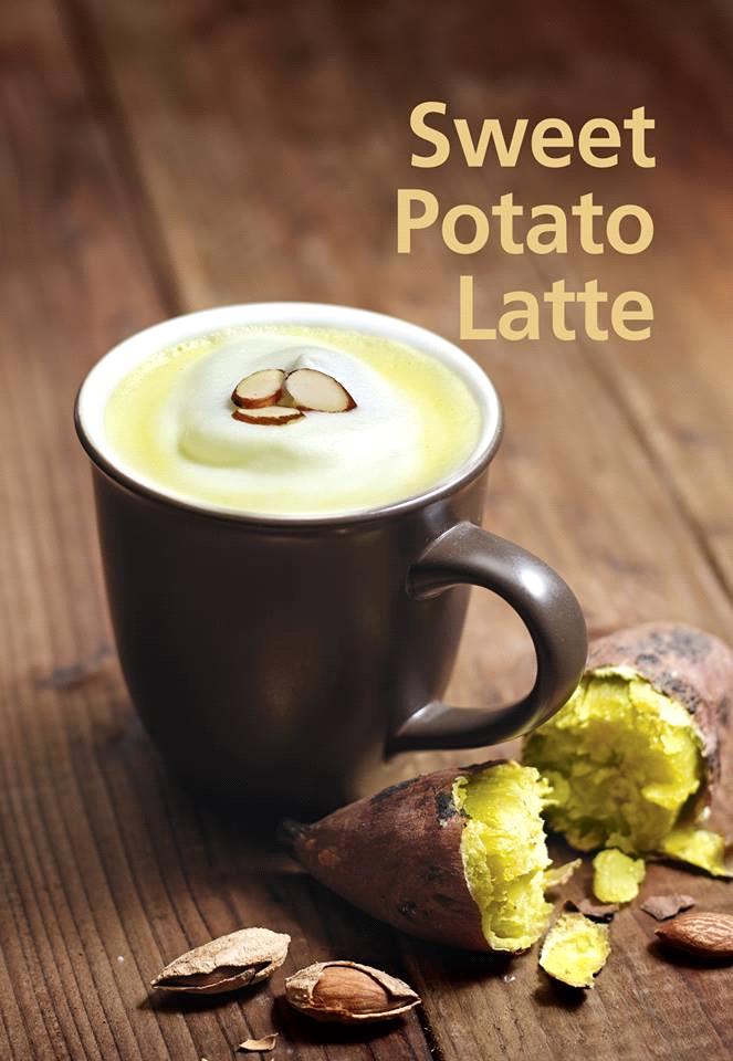 Latte khoai lang hay còn gọi là khoai lang sữa là thức uống tốt cho sức khỏe. (Ảnh: Internet)