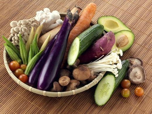 Người Nhật ăn nhiều rau.
