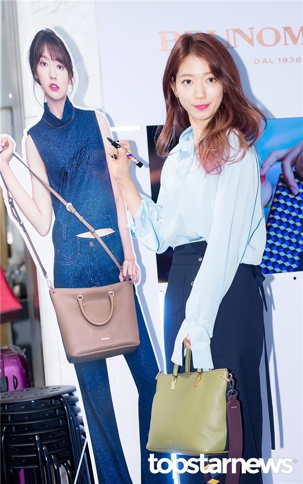 Một tháng sau Doctors, Park Shin Hye tái xuất quá đẹp, quá sang