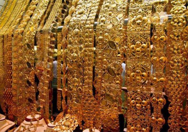 """Người Dubai yêu thích trang sức vàng với kích cỡ và cân nặng""""khủng"""".(Ảnh: Internet)"""