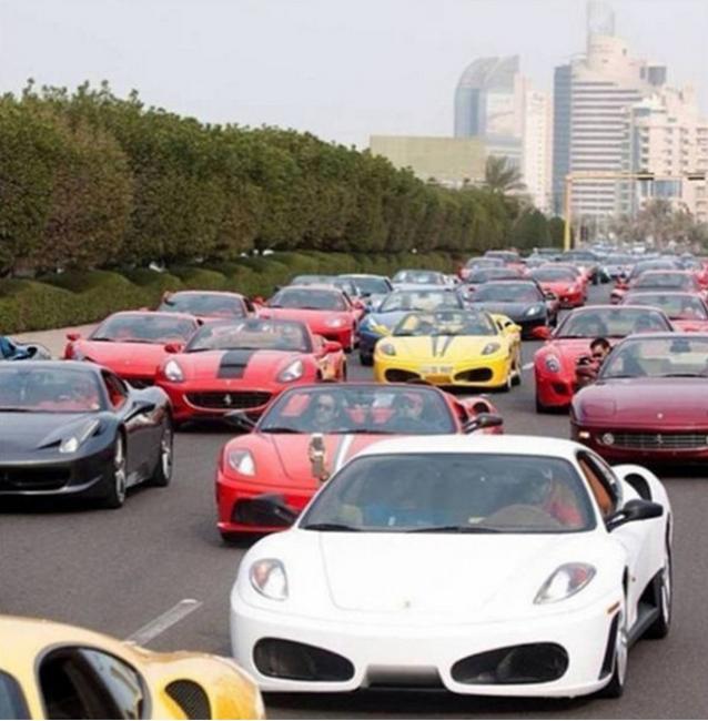 Dubai là thành phố của những siêu xe.(Ảnh: Internet)