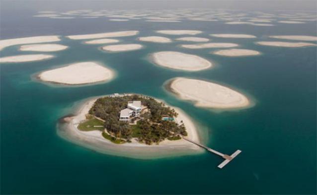 Đại gia Dubai đủ tiền để mua những hòn đảo cho riêng mình.(Ảnh: Internet)