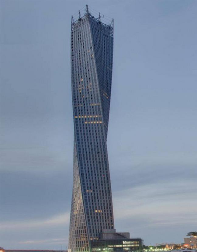 Bạn đếm xem tòa nhà này bao nhiêu tầng?(Ảnh: Internet)