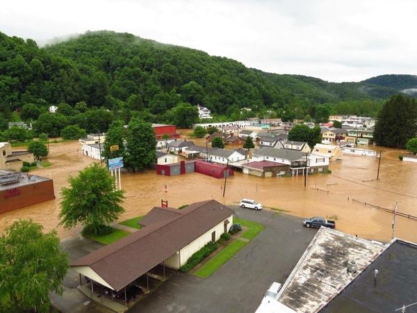 Trận lụt kinh hoàng tháng 6 vừa qua tại bang Virginia, Hoa Kỳ