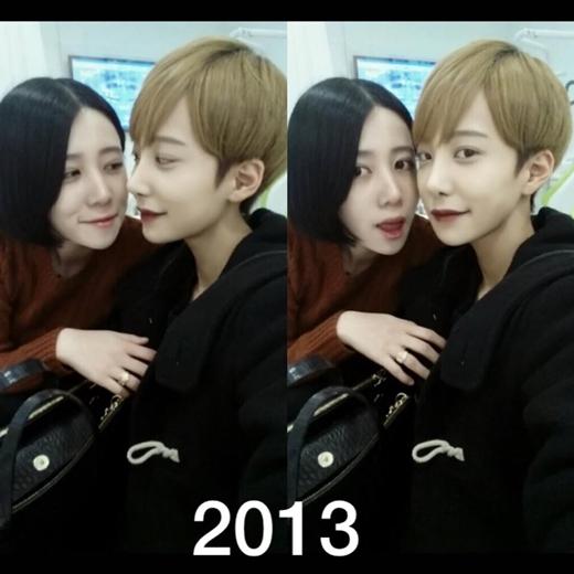 Cặp đôi đồng tính nữ gây bão mạng xã hội Hàn Quốc vì quá đẹp đôi