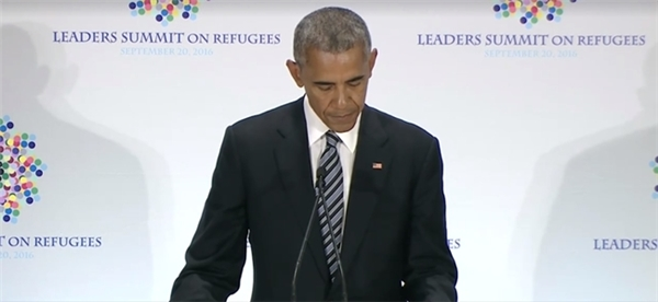 Ông Obamađã đọc to bức thư này tại Hội nghị thượng đỉnh của Liên Hợp Quốc về người tị nạn diễn ra trong tuần qua...