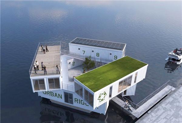 Sinh viên ở Copenhagen sẽkhông phải sống ở những nơi nhỏ bé chật hẹp nữa mà được ở trong những căn phòng thoáng mát, tiện nghi ngay giữatrung tâm thành phố.