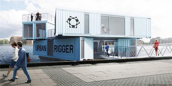 Mỗi thùng container có riêng phòng tắm, phòng ngủ, nhà bếp. Do đó, ký túc xá dạng này tạo được không gian khá riêng tư.