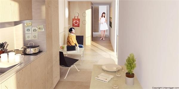 Các phòng đều được trang bị nhiều cửa sổ và cửa ra vào, mang lại không gian thoáng đãng nhờ nguồn ánh sáng tự nhiên.