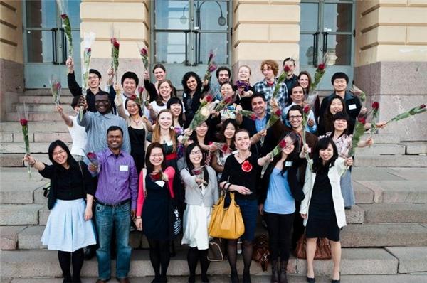 Rất nhiều du học sinh Việt Nam đã đến Bắc Âu để hoàn thành ước mơ du học của mình.
