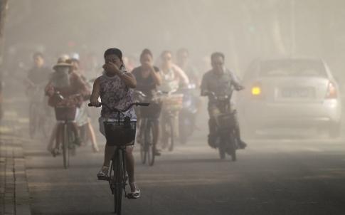 Khói bụi ngập tràn ở những nước bị ô nhiễm không khí. (Ảnh: internet)