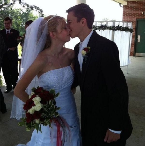 Cặp vợ chồng Dalton và Katie Prager. Ảnh: Youcaring
