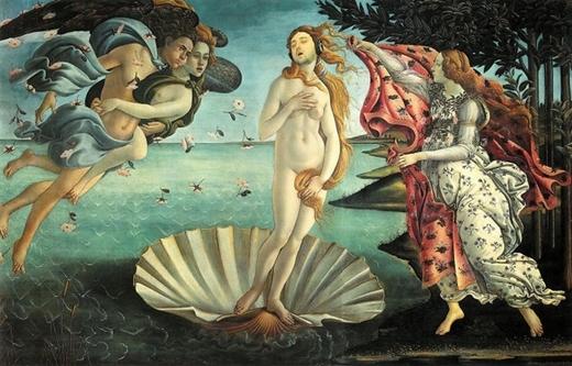 Nữ thần Venus phiên bản ngủ gật.