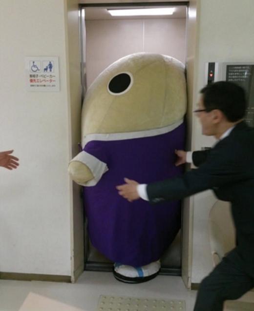 Chết cười với 1001 khoảnh khắc kẹt cứng của những chú mascot béo phì