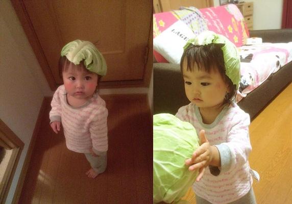 Trào lưu mũ bắp cải ở Nhật: không chỉ dễ thương, còn tốt cho sức khỏe