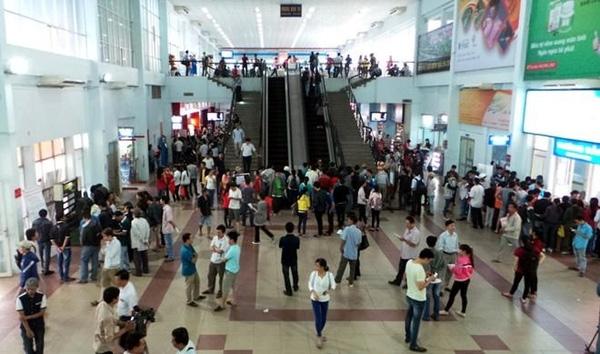 Bắt đầu từ ngày 25-9, ga Sài Gòn bán vé tàu Tếtnguyễnđán.