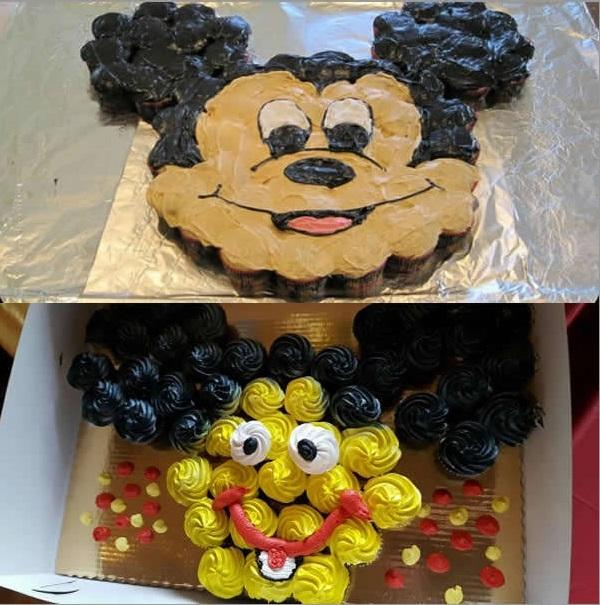 """""""Chuột Mickey của tôi làm ra cũng có đủ hai tai, hai mắt và một cái miệng mà""""."""