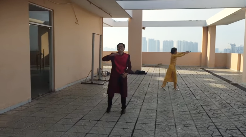 """Bật mí hậu trường siêu nhắng của clip rước dâu """"đẹp như MV"""""""
