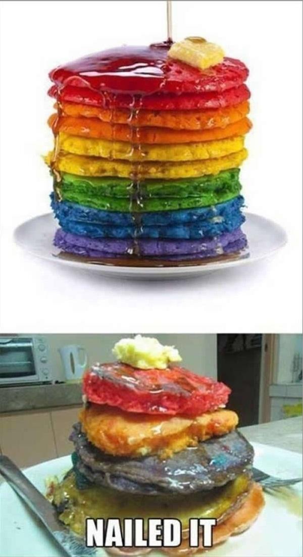 """""""Chiếc bánh của tôi cũng có đủ nhiêu đó màu mà""""."""
