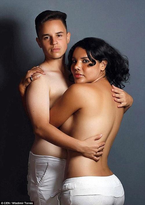 Điều kỳ diệu xảy ra bởi cả hai vợ chồng đều chưa thực hiện phẫu thuật chuyển đổi giới tính hoàn toàn ở phần dưới cơ thể.