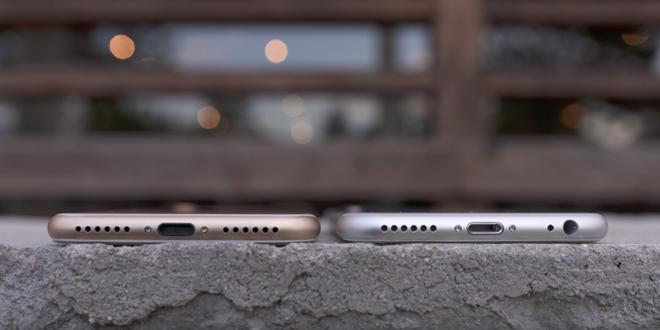 iPhone 7/ 7 Plus đã bỏ cổng âm thanh 3.5 mm thông thường. (Ảnh: internet)
