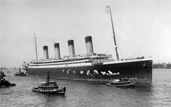 Titanic, biểu tượng của sự xa hoa quyền quý trước lúc khởi hành vào ngày 10/4/1912