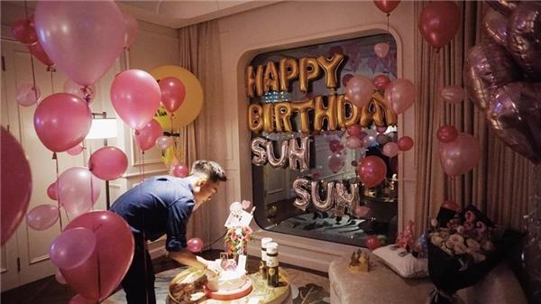 Những hình ảnh trong buổi sinh nhật hoành tráng màPhởtặngSun Ht.