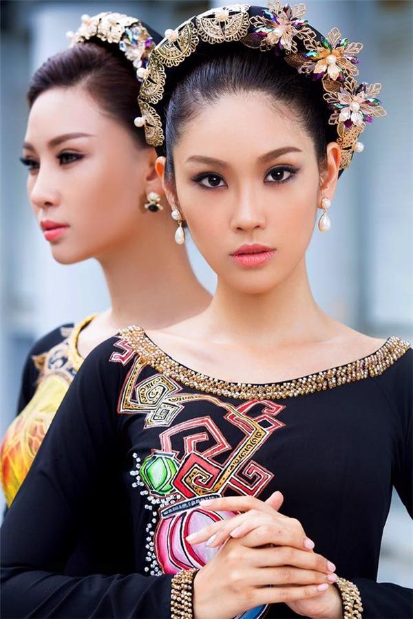 Phương Linh sở hữu chiều cao 1m73, số đo 3 vòng: 82 - 60 -92. Người đẹp 19 tuổi có lợi thế ở cách ứng xử thông minh, nhạy bén cùng kĩ năng tiếng Anh khá tốt.