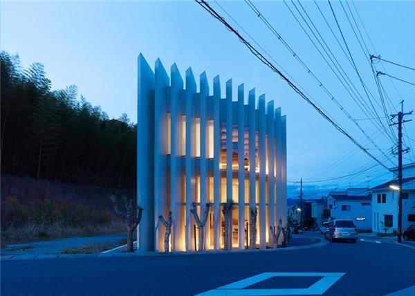 Sững sờ trước những ngôi nhà độc đáo chỉ có ở Nhật Bản