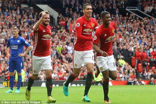 Man United đã có chiến thắng ấn tượng trước Leicester City ở vòng 6 Ngoại hạng Anh.