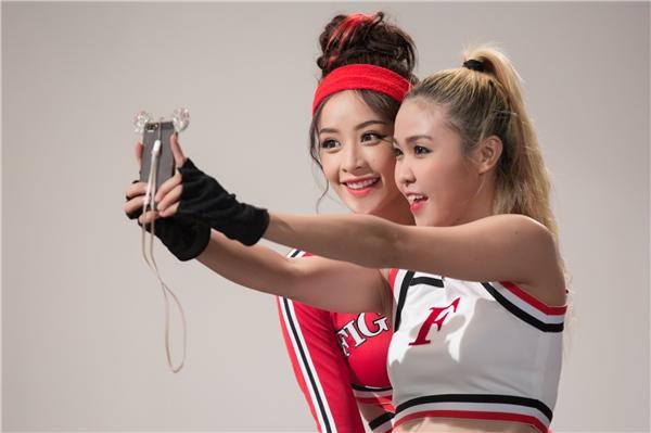 Chi Pu cực gợi cảm với phong cách thể thao