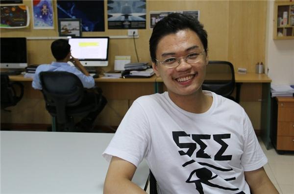 Chân dung Trương Ngọc - thực tập sinh Việt Nam đầu tiên tại NASA. (Ảnh: Nguyễn Thảo)
