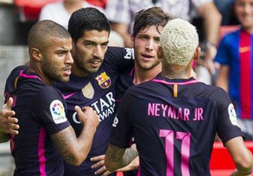 Cuộc sống-không-Messi của Barca vẫn rất tươi đẹp.