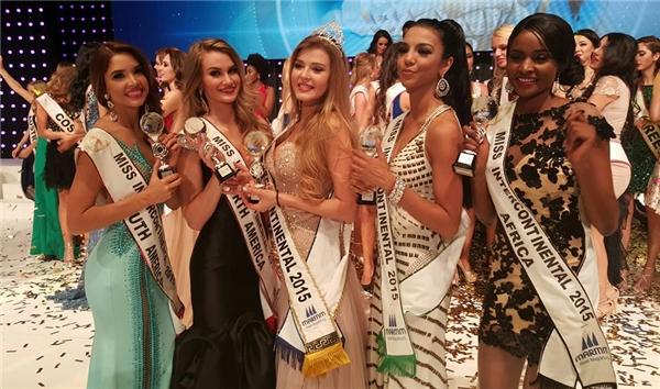 Miss Intercontinental là cuộc thi uy tín và có thâm niên lâu đời chỉ sauMiss World,Miss Universe vàMiss International. - Tin sao Viet - Tin tuc sao Viet - Scandal sao Viet - Tin tuc cua Sao - Tin cua Sao