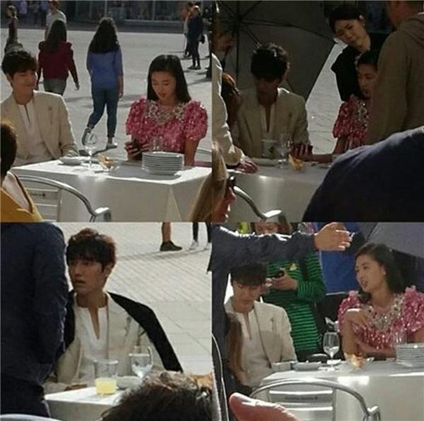 """Thích thú ngắm Lee Min Ho và Jun Ji Hyun """"kéo áo đi khắp thế gian"""""""