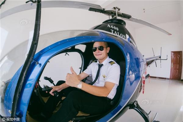 Việc mua máy bay này chính là để thỏa mãn ước mơ được bay lượn trên bầu trời của anh và cha mình.