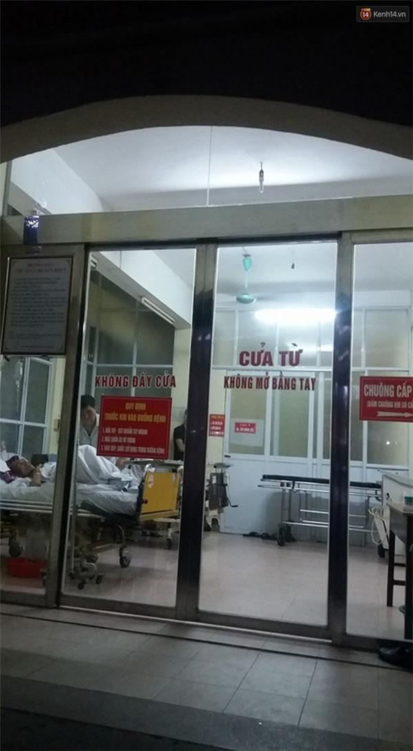 Bệnh viện nơi cấp cứu cho nạn nhân. Ảnh: Thế Long